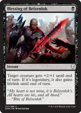 Blessing of Belzenlok