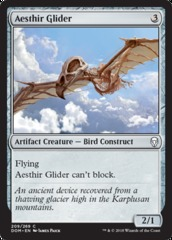 Aesthir Glider - Foil on Channel Fireball