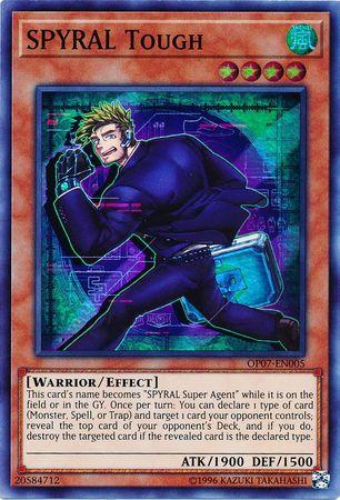 SPYRAL Tough - OP07-EN005 - Super Rare - Unlimited Edition