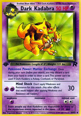 Dark Kadabra - 39/82 - Uncommon - 1st Edition