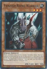 Fiendish Rhino Warrior - SR06-EN017 - Common - 1st Edition on Channel Fireball