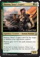 Shanna, Sisay's Legacy - Foil - Prerelease Promo