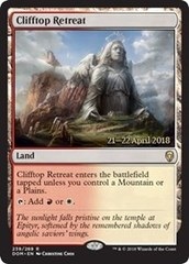 Clifftop Retreat - Foil - Prerelease Promo