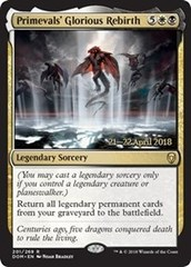 Primevals' Glorious Rebirth - Foil - Prerelease Promo