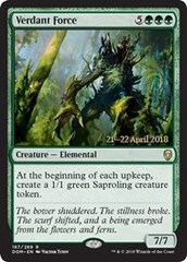 Verdant Force (Dominaria Prerelease Foil)