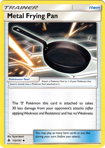 Metal Frying Pan - 112/131 - Uncommon