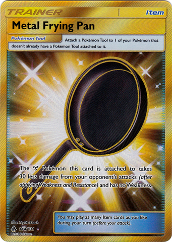 Metal Frying Pan - 144/131 - Secret Rare