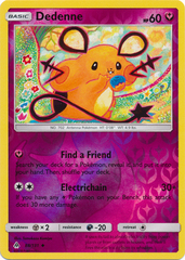 Dedenne - 88/131 - Uncommon - Reverse Holo on Channel Fireball