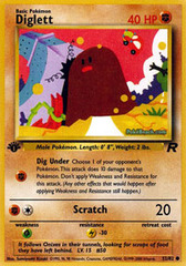 Diglett - 52/82 - Common - 1st Edition