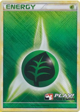 Grass Energy - 2010 Crosshatch Holo Play! Pokemon Promo