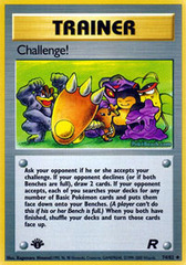 Challenge! - 74/82 - Uncommon - 1st Edition on Channel Fireball