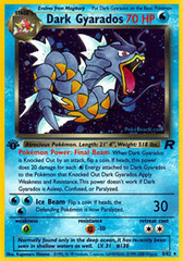 Dark Gyarados - 8/82 - Holo Rare - 1st Edition on Channel Fireball
