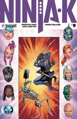 Ninja-K #9 (Cover A - Carnero)