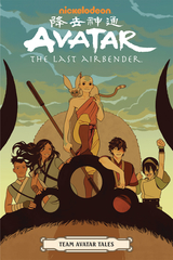 Avatar: The Last Airbender Trade Paperback Team Avatar Tales
