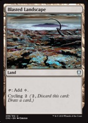 Blasted Landscape on Channel Fireball