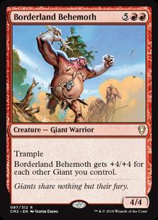 Borderland Behemoth