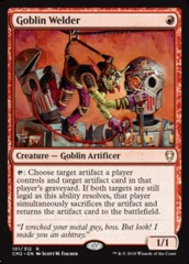 Goblin Welder on Channel Fireball
