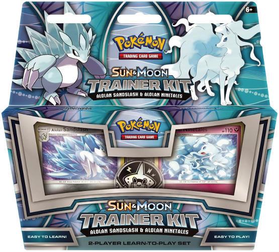 Pokemon Sun & Moon Trainer Kit - Alolan Sandslash & Alolan Ninetales