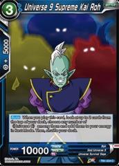 Universe 9 Supreme Kai Roh - TB1-034 - C