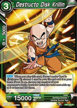 Destructo Disk Krillin - TB1-053 - R - Dragon Ball Super TCG Singles