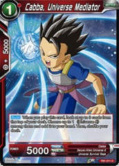 Cabba, Universe Mediator (Foil) - TB1-011 - C on Channel Fireball