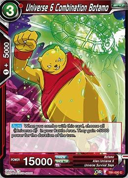 Universe 6 Combination Botamo (Foil) - TB1-020 - C