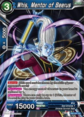 Whis,  Mentor of Beerus (Foil) - TB01-031 - UC