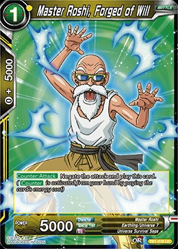 Master Roshi, Forged of Will (Foil) - TB01-076 - UC