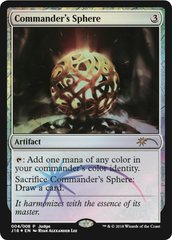 Commander's Sphere - Judge Foil