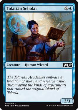 Tolarian Scholar - Foil