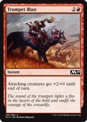 Trumpet Blast - Foil on Channel Fireball