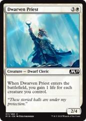 Dwarven Priest - Foil