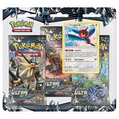 Sun & Moon - Ultra Prism 3 Pack Blister - Porygon-Z