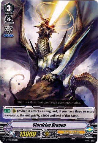 Stardrive Dragon - V-TD01/002EN