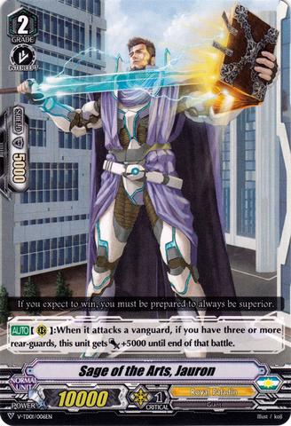 Sage of the Arts, Jauron - V-TD01/006EN - Cardfight!! Vanguard