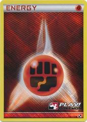 Fighting Energy - 110/114 - Crosshatch Holo Play! Pokemon Promo