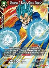 Universe 7 Saiyan Prince Vegeta - TB1-004 - SR