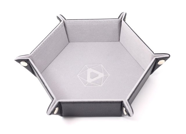 Die Hard Folding Hex Tray w/ Blue Velvet