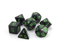 RPG Set - Black w/ Green