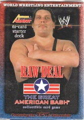 Raw Deal The Great American Bash Andre the Giant Starter Deck