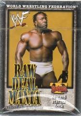 Raw Deal Mania Booker T Starter Deck