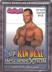 Raw Deal Insurrextion The Crippler Starter Deck