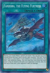 Fandora, the Flying Furtress - DASA-EN024 - Super Rare - 1st Edition
