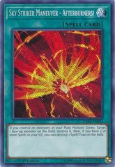 Sky Striker Maneuver - Afterburners! - DASA-EN031 - Secret Rare - 1st Edition
