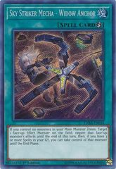 Sky Striker Mecha - Widow Anchor - DASA-EN034 - Secret Rare - 1st Edition