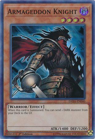 Armageddon Knight - DASA-EN040 - Super Rare - 1st Edition