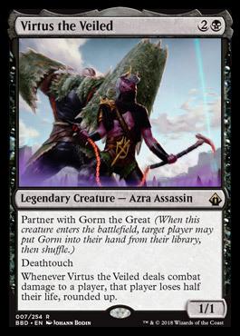 Virtus the Veiled - Foil