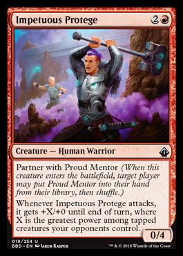 Impetuous Protege - Foil