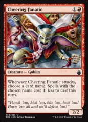 Cheering Fanatic - Foil