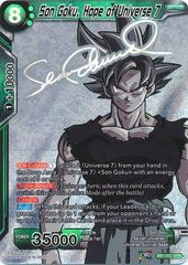 Son Goku, Hope of Universe 7 (SPR) - TB01-052 - SPR
